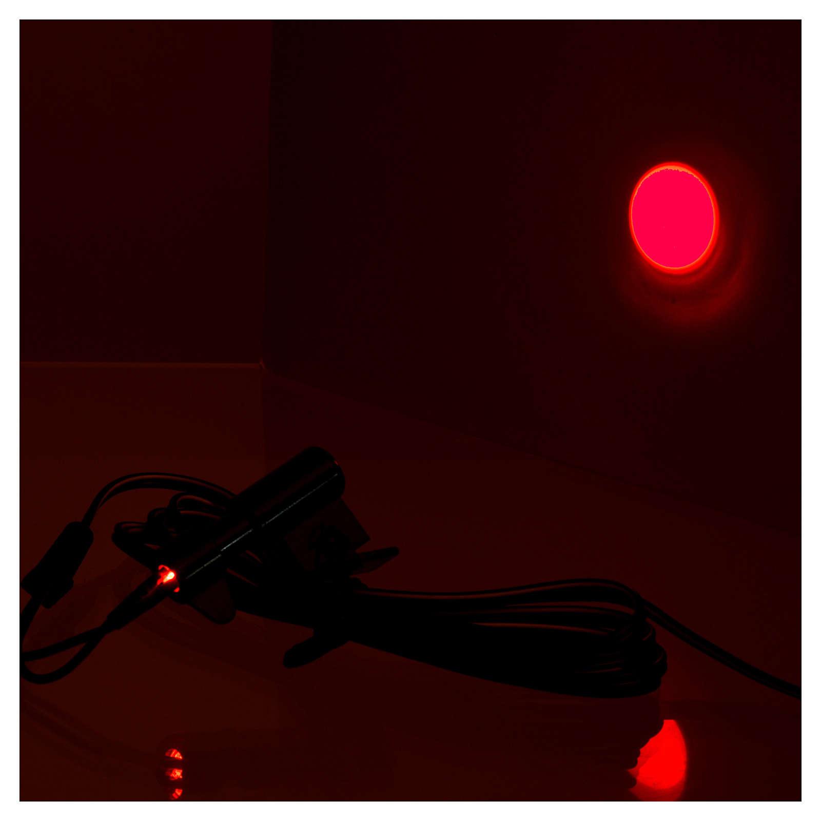 Micro projecteur soleil rouge pour centrales Frisalight 4