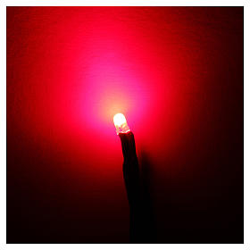 LED light, 3 mm, red for Frisalight control units s2