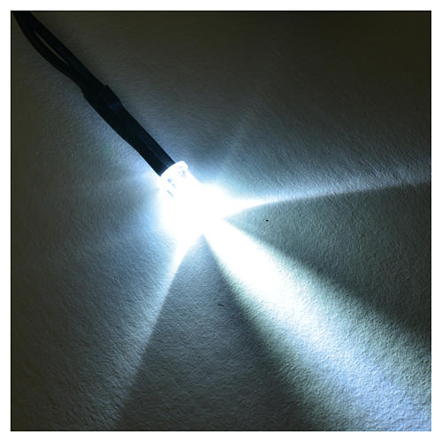 LED light, 5 mm, white for Frisalight control units 2