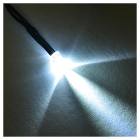 LED light, 5 mm, white for Frisalight control units s2