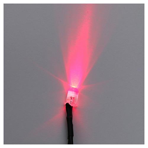 Led rouge 5 mm pour centrales Frisalight 1