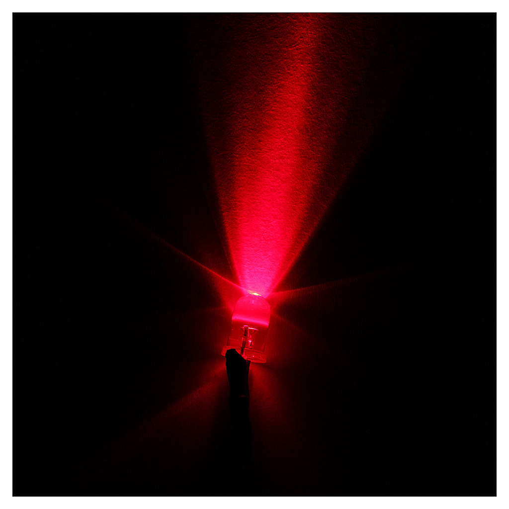 LED light, 5 mm, red for Frisalight control units 4