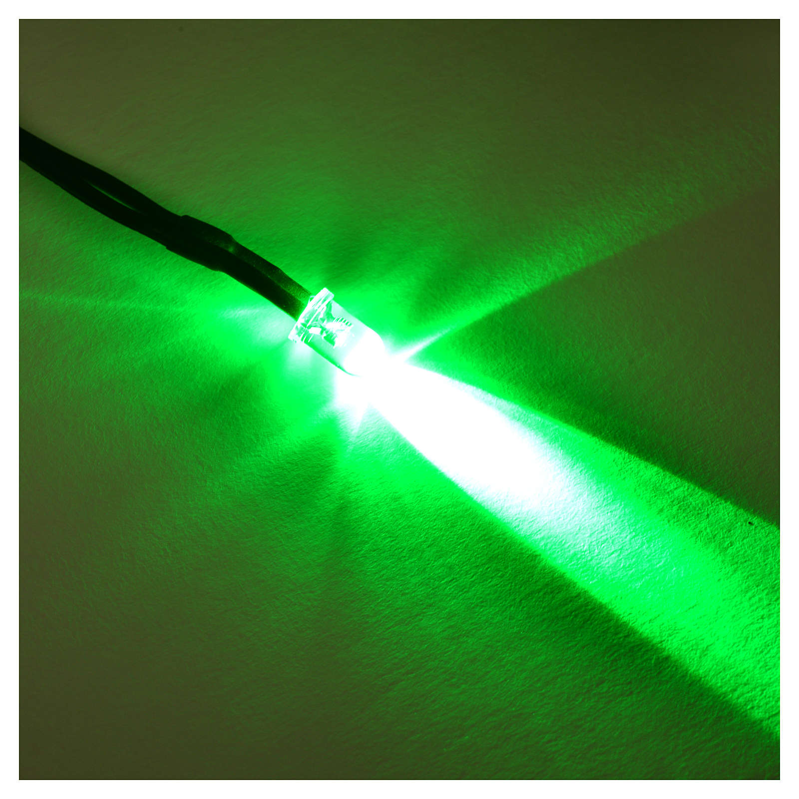 LED light, 5 mm, green for Frisalight control units 4
