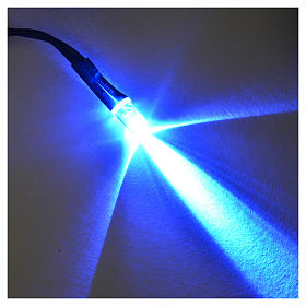 LED light, 5 mm, blue for Frisalight control units s2