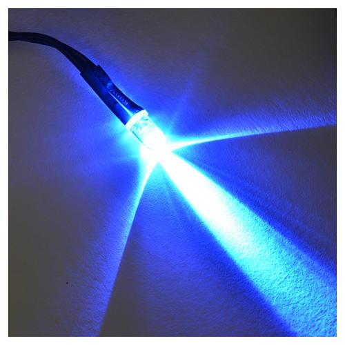 LED diámetro 5 mm. luz azul para centralitas Frisalight 2