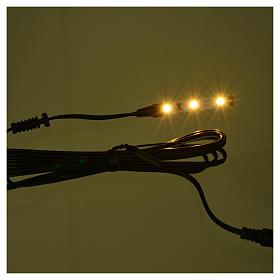 Tira de 3 LED cm. 0.8x4 cm. blanca caliente para Frisalight s2