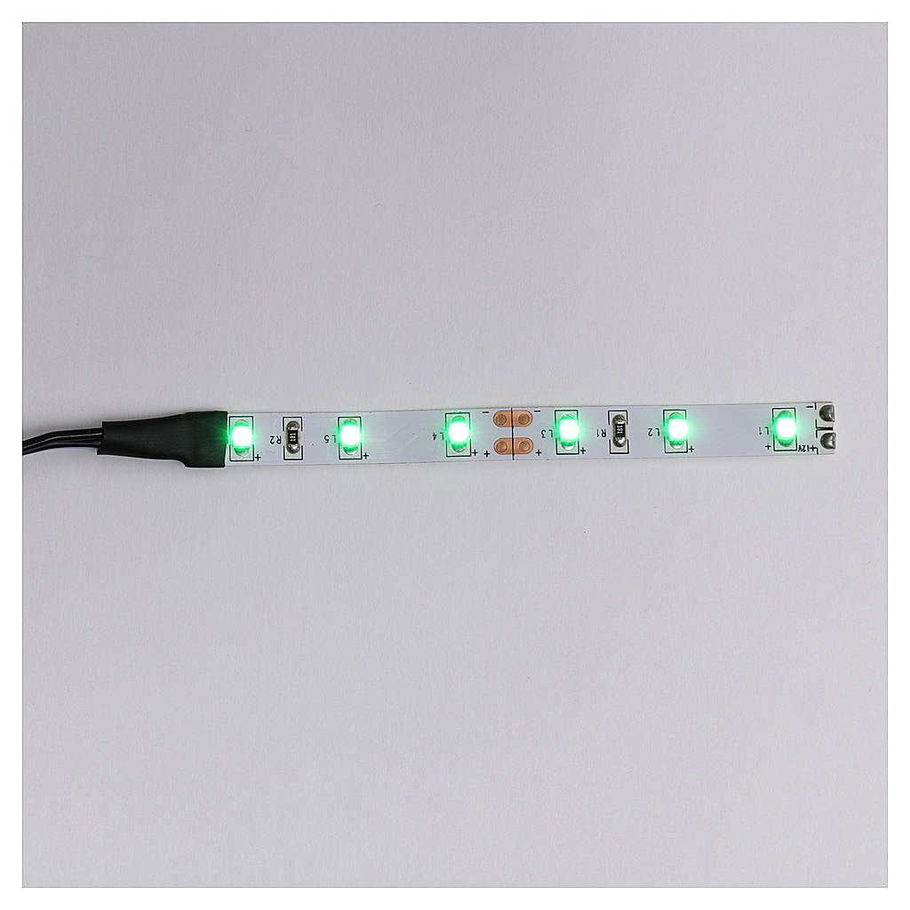 Led a strisce a 6 led cm 0,8x8 cm verde per Frisalight 4
