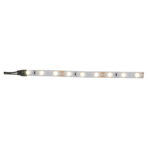 LED strip with 9 lights 0,8x12cm, white for Frisalight 1