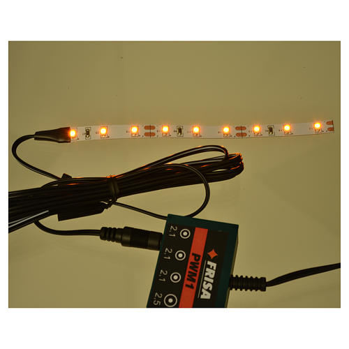 Led strisce 9 led cm 0,8x12 cm gialla per Frisalight 2