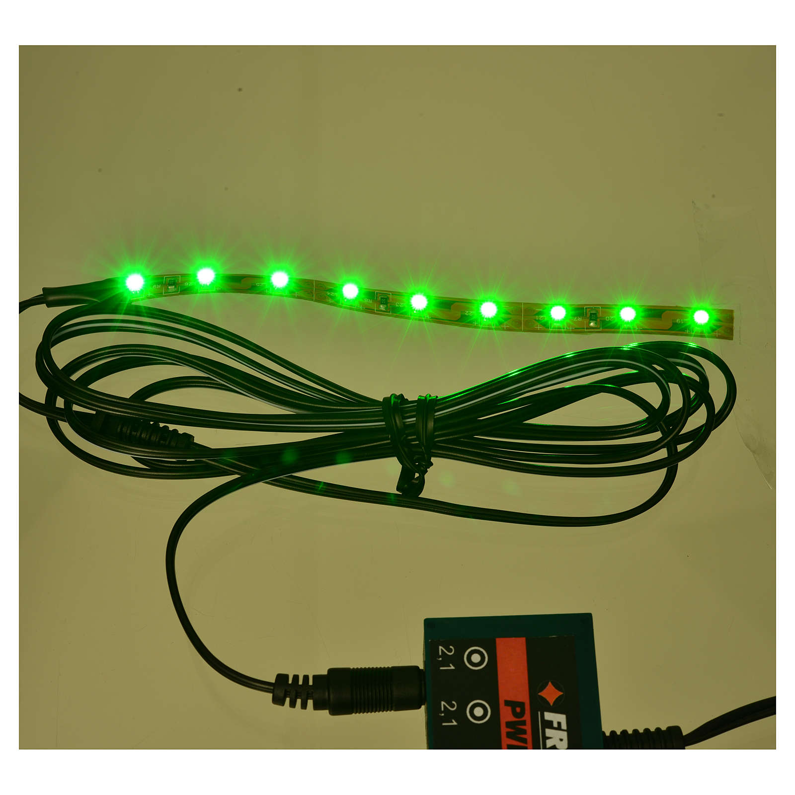 LED strip with 9 lights 0,8x12cm, warm white for Frisalight 4