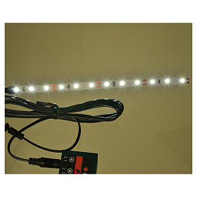 Led strisce 12 led cm 0,8x16 cm bianca fredda per Frisalight s2