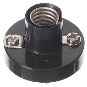 Portalampada E10 per lampadine micromignon C11 per presepi s1