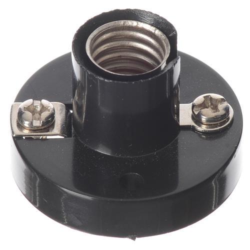 Portalampada E10 per lampadine micromignon C11 per presepi 1