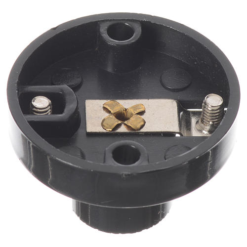 Portalampada E10 per lampadine micromignon C11 per presepi 3