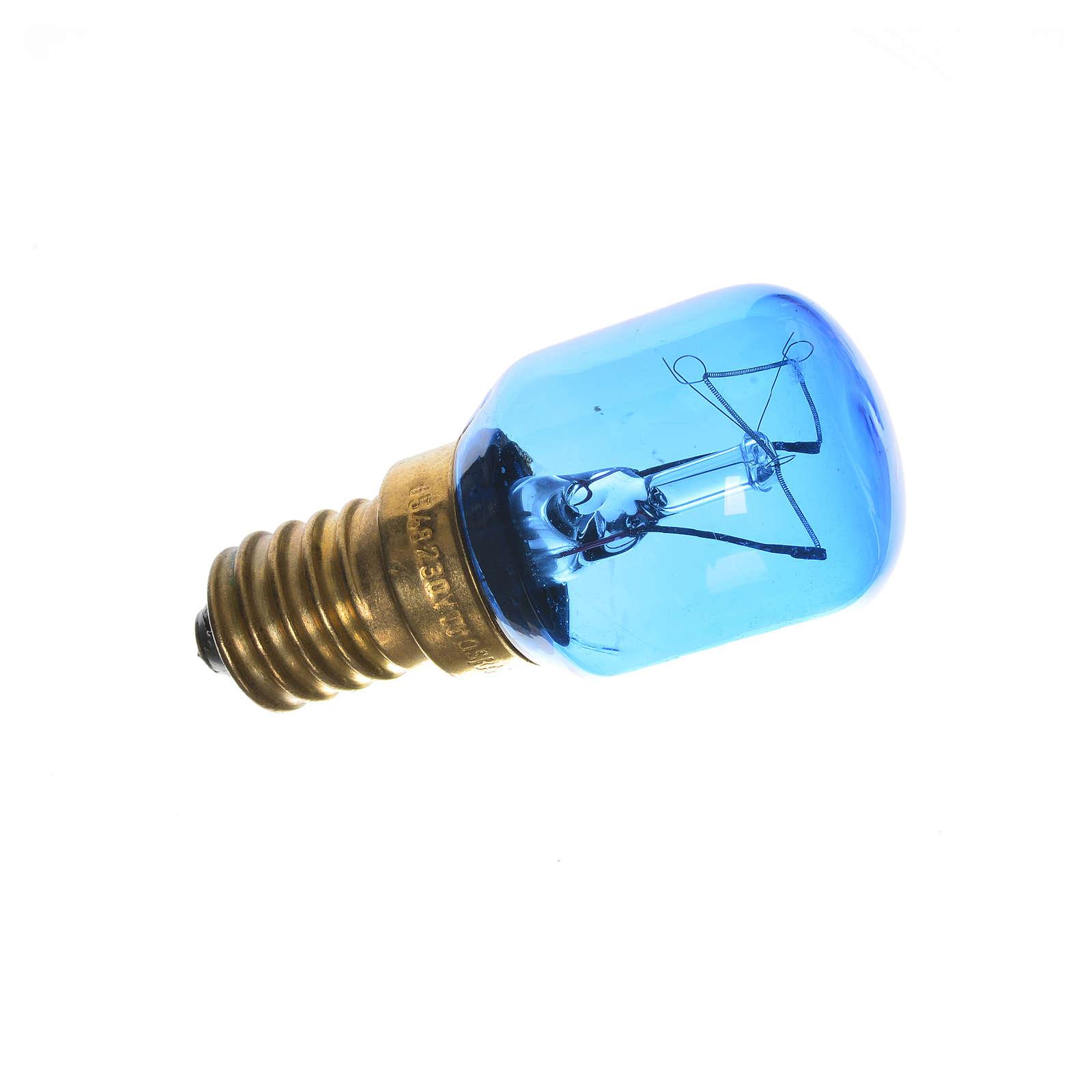 Lampada 15W bianca E14 per illuminazione presepi 4