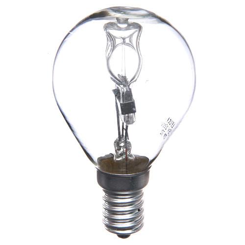 Lampada 25W bianca E14 per illuminazione presepi 1