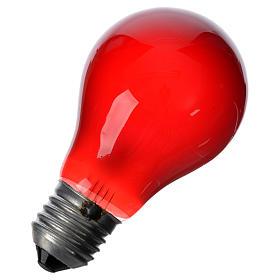 Bombilla 40W roja E27 para belén s2