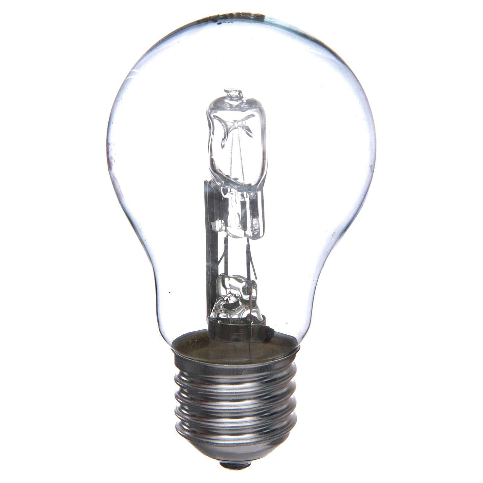 Lampada 60W bianca E27 per illuminazione presepi 4