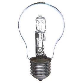 Lampada 60W bianca E27 per illuminazione presepi s1