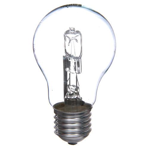 Lampada 60W bianca E27 per illuminazione presepi 1