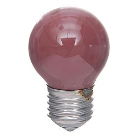Luzes e Lamparinas para o Presépio: Lâmpada 40W vermelha E25 45x77 mm para iluminação presépio