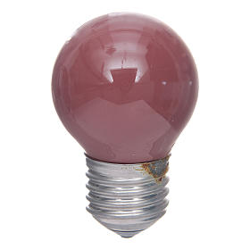 Nativity lights and lamps: Lamp for nativity lighting 40W, red, E25, 45x77mm