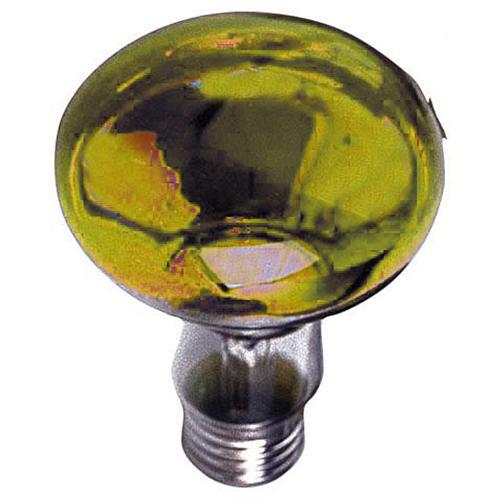Lampada fascio diffuso 80° gialla E27 illuminazione presepi 1