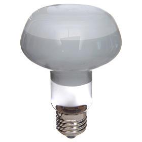 Ampoule réflecteur R80 lumière diffuse 60W E27 blanc s1