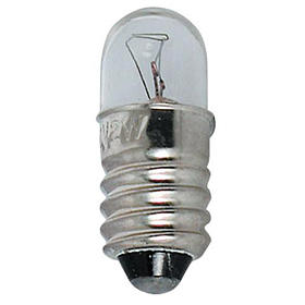 Bombilla micromignon 12V E10 para belenes s1