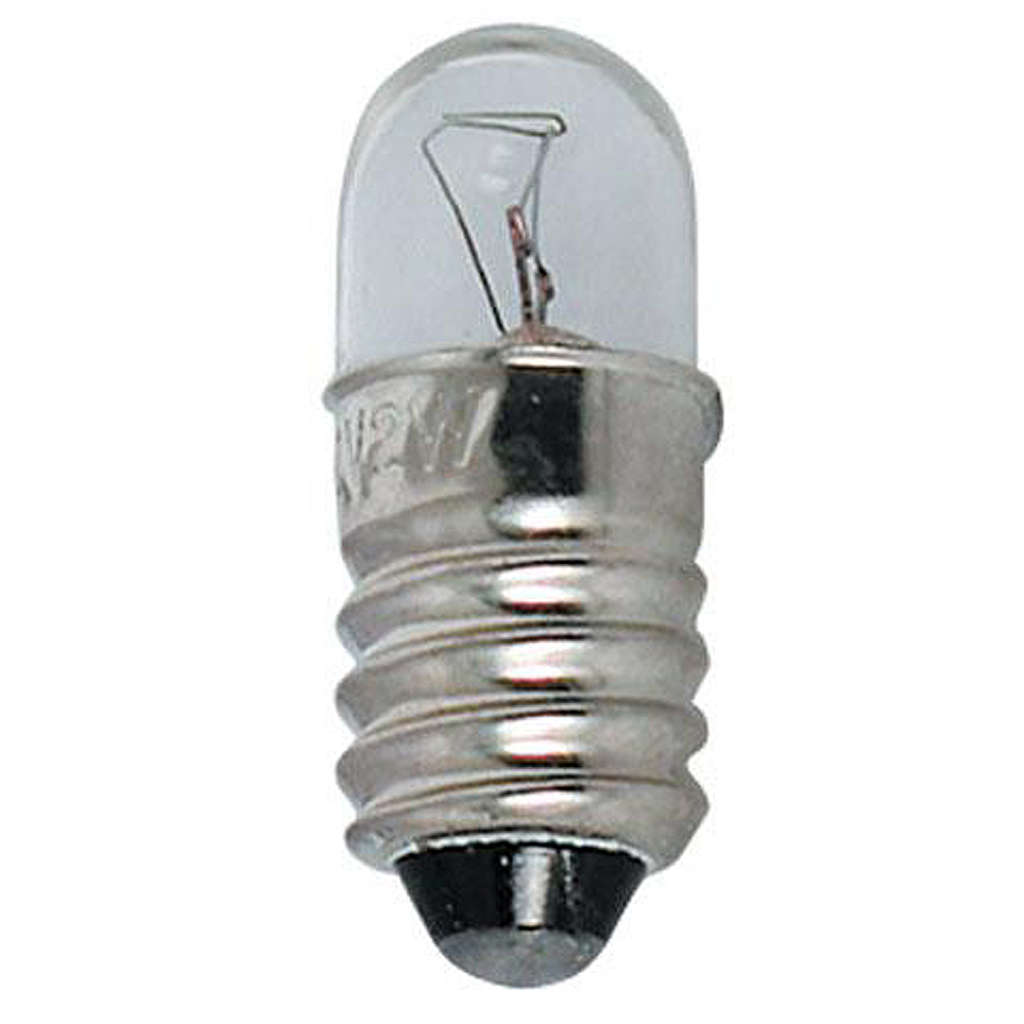 Lampada micromignon 24 volt E10 illuminazione presepi 4