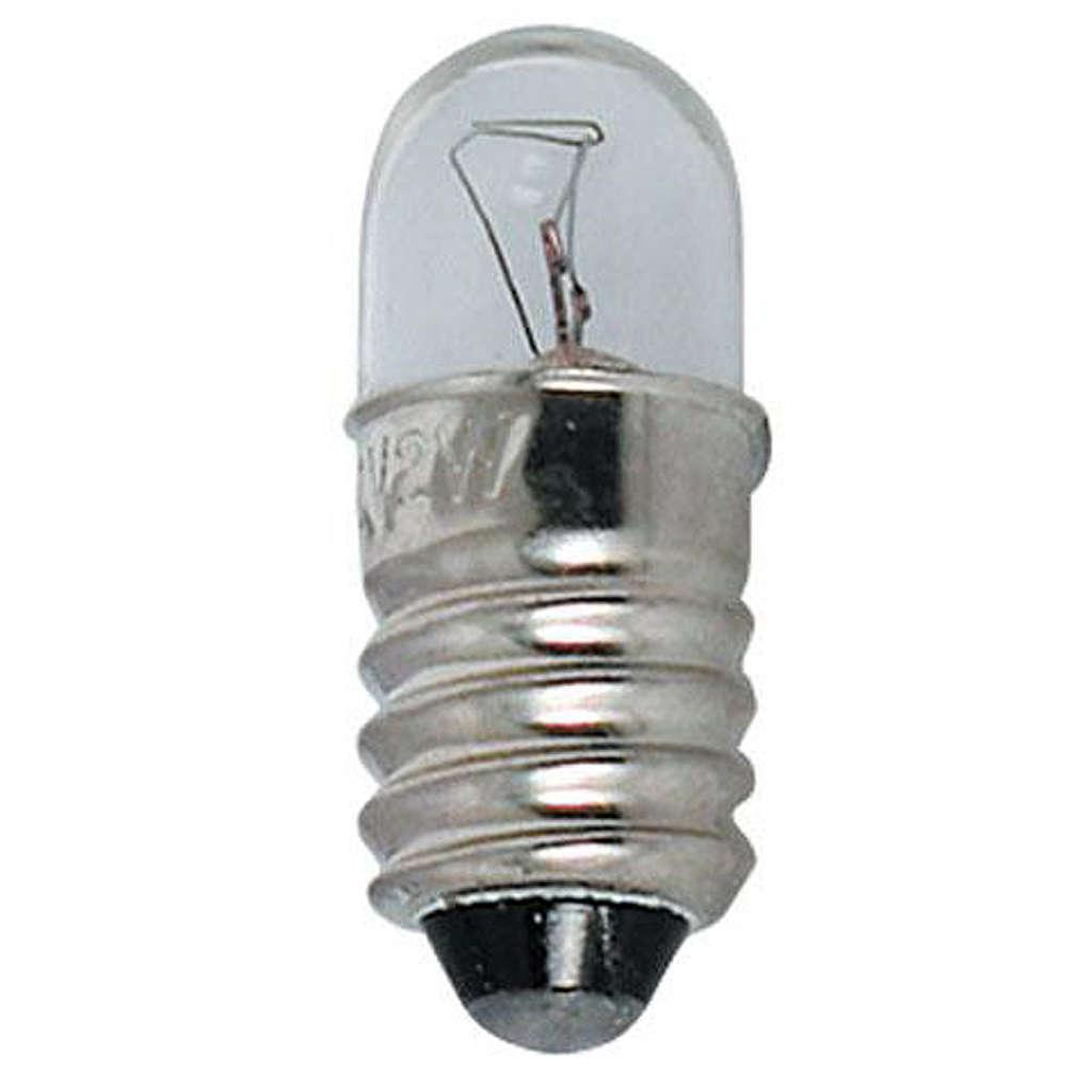 Lampada micromignon 220 volt E10 illuminazione presepi 4