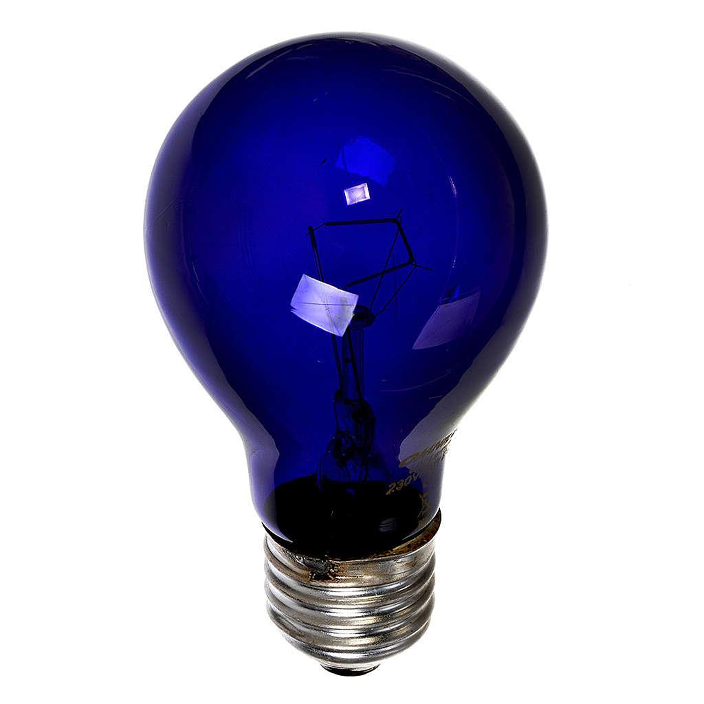 Filament lamp, black light 75W E27 4