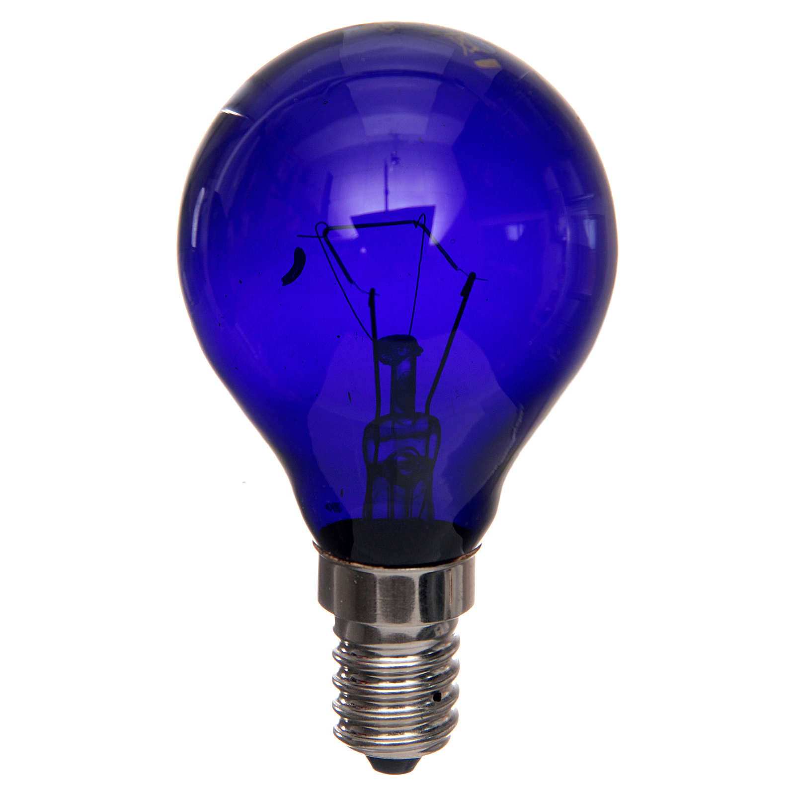 Filament lamp, black light 40W E14 4