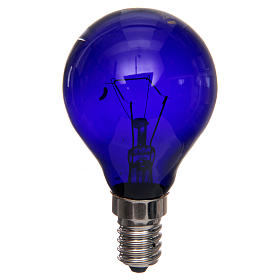 Filament lamp, black light 40W E14 s1