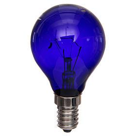 Ampoule lumière noire effet ultraviolets 40W E14 s1