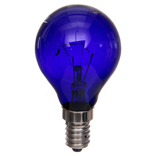 Ampoule lumière noire effet ultraviolets 40W E14 1