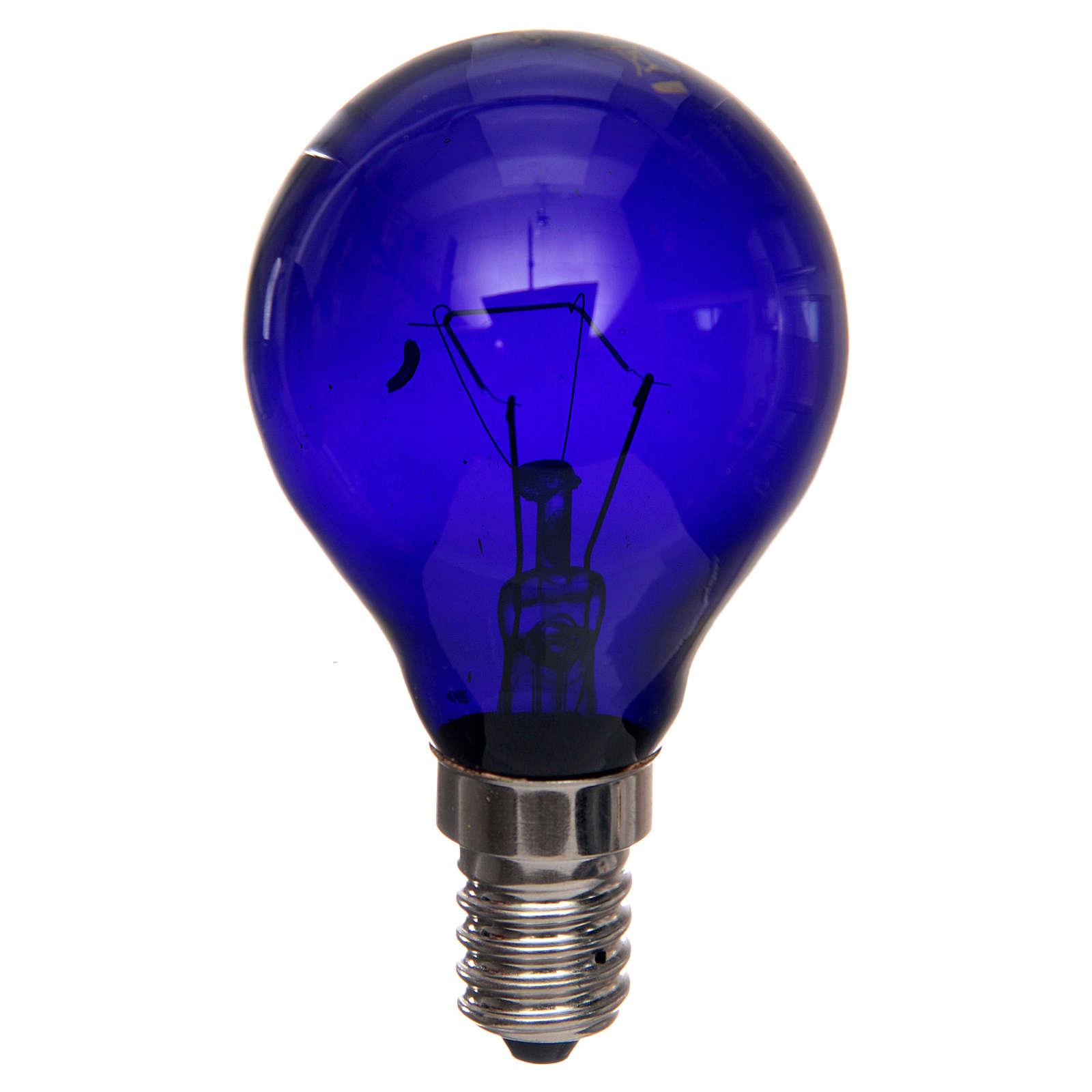 Filament lamp, black light 40W E14 4