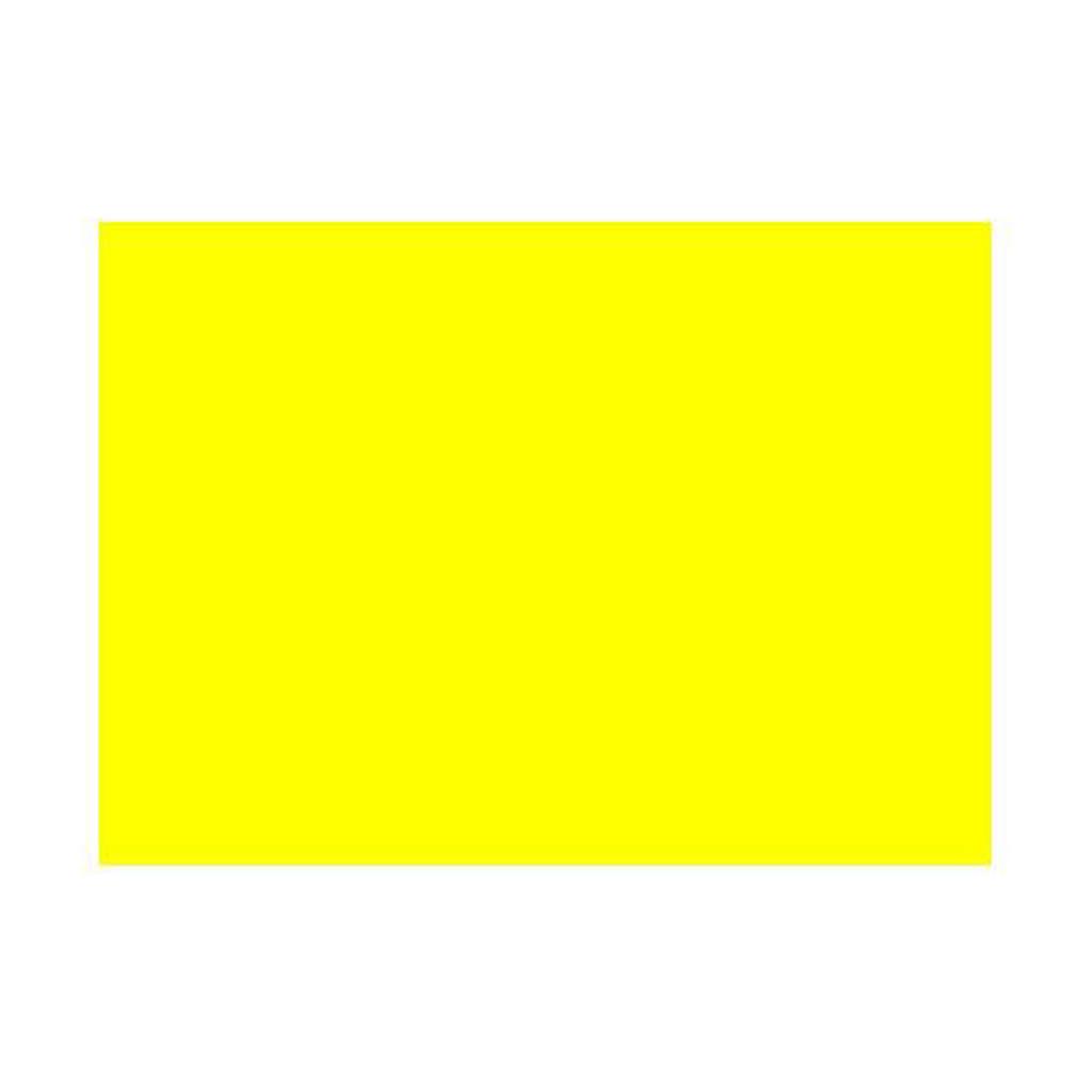 Gelatina per lampade 25x30 cm gialla 4
