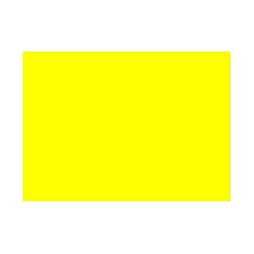 Gelatina per lampade 25x30 cm gialla 1
