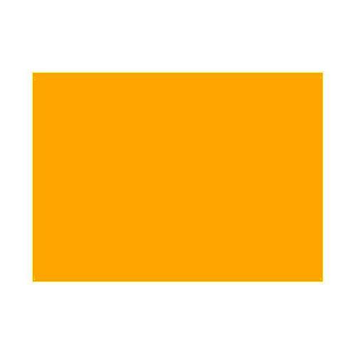 Gélatine pour ampoules 25x30 cm orange 1