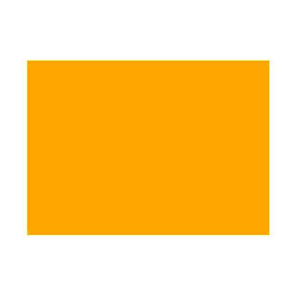 Gelatina per lampade 25x30 cm arancione 4
