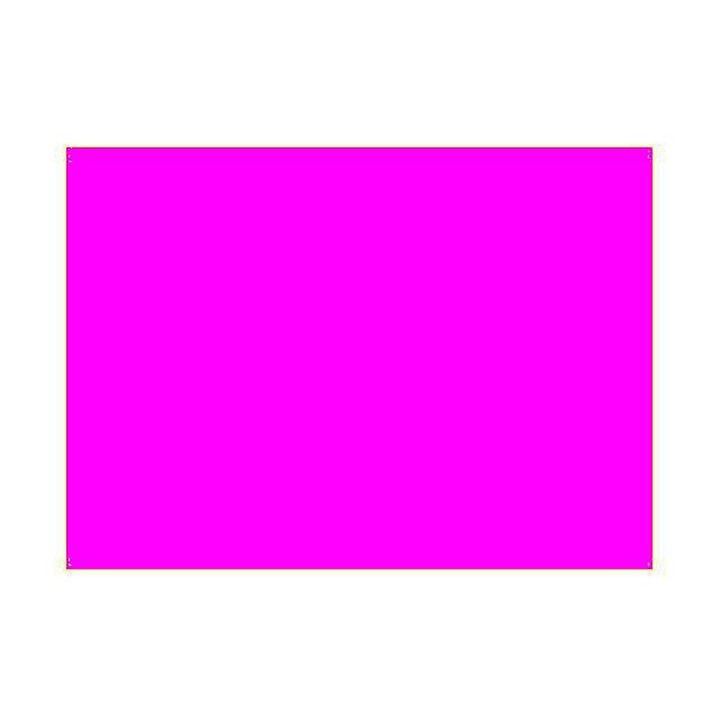 Gélatine pour ampoules, feuille de 25x30 cm, couleur magenta 4