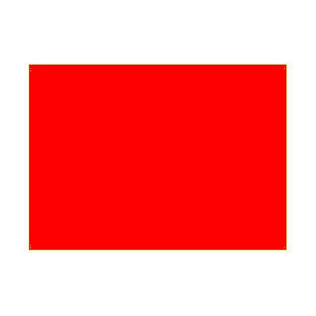 Gélatine pour ampoules 25x30 cm rouge brillant 4