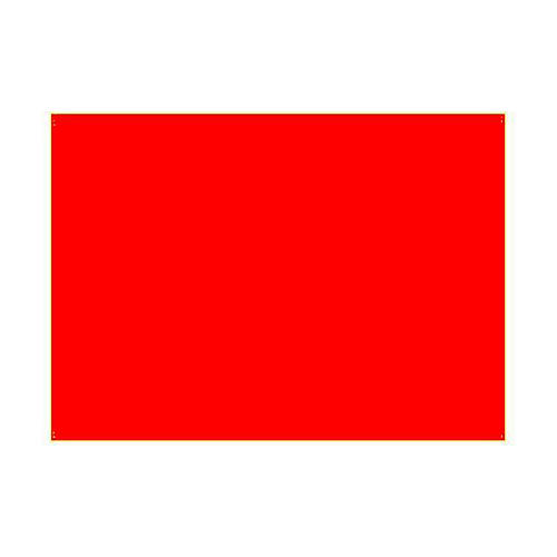 Gélatine pour ampoules 25x30 cm rouge brillant 1