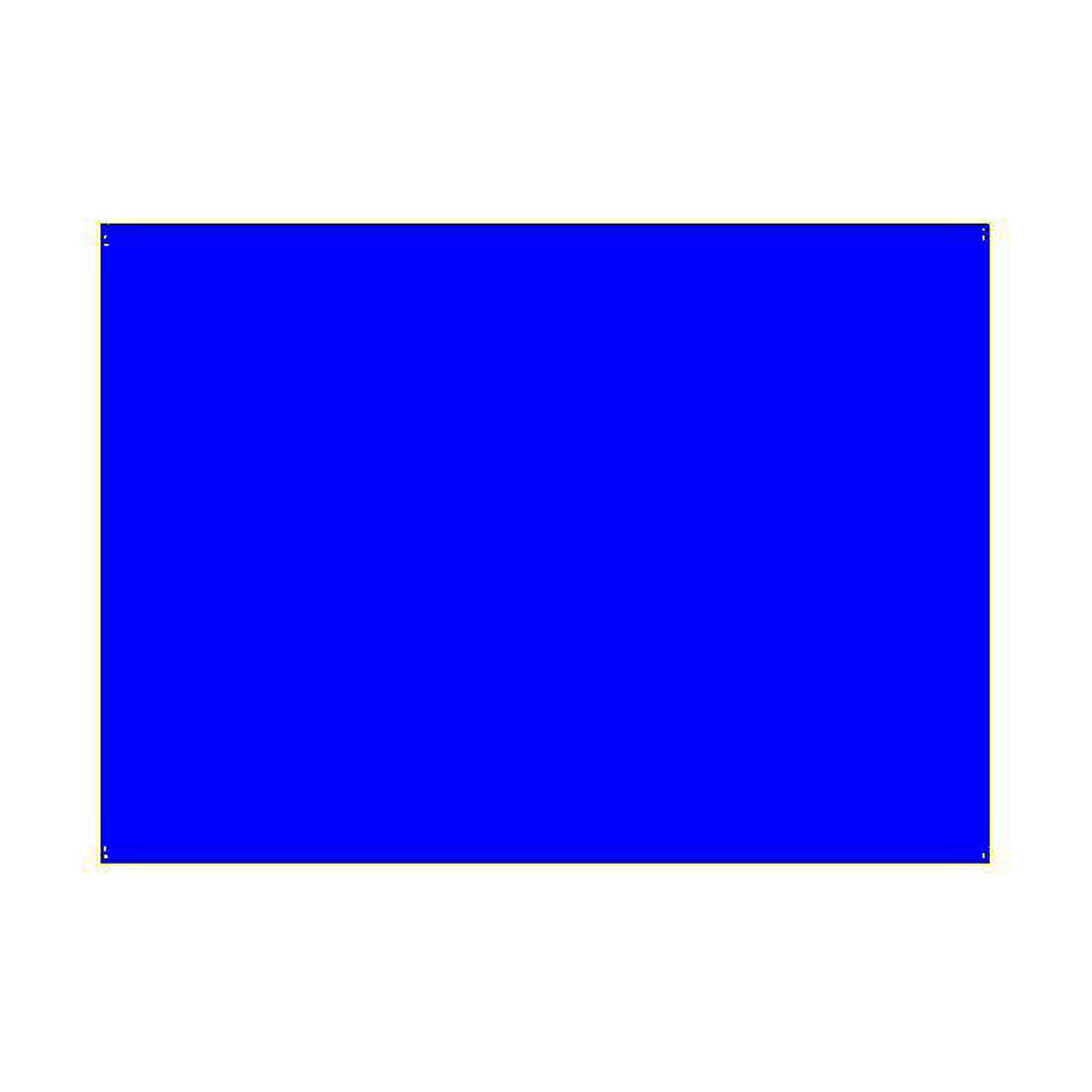 Gelatina per lampade 25x30 cm blu medio 4