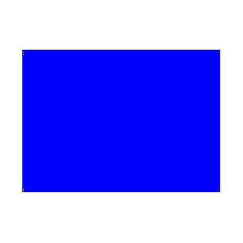 Gelatina per lampade 25x30 cm blu medio 1