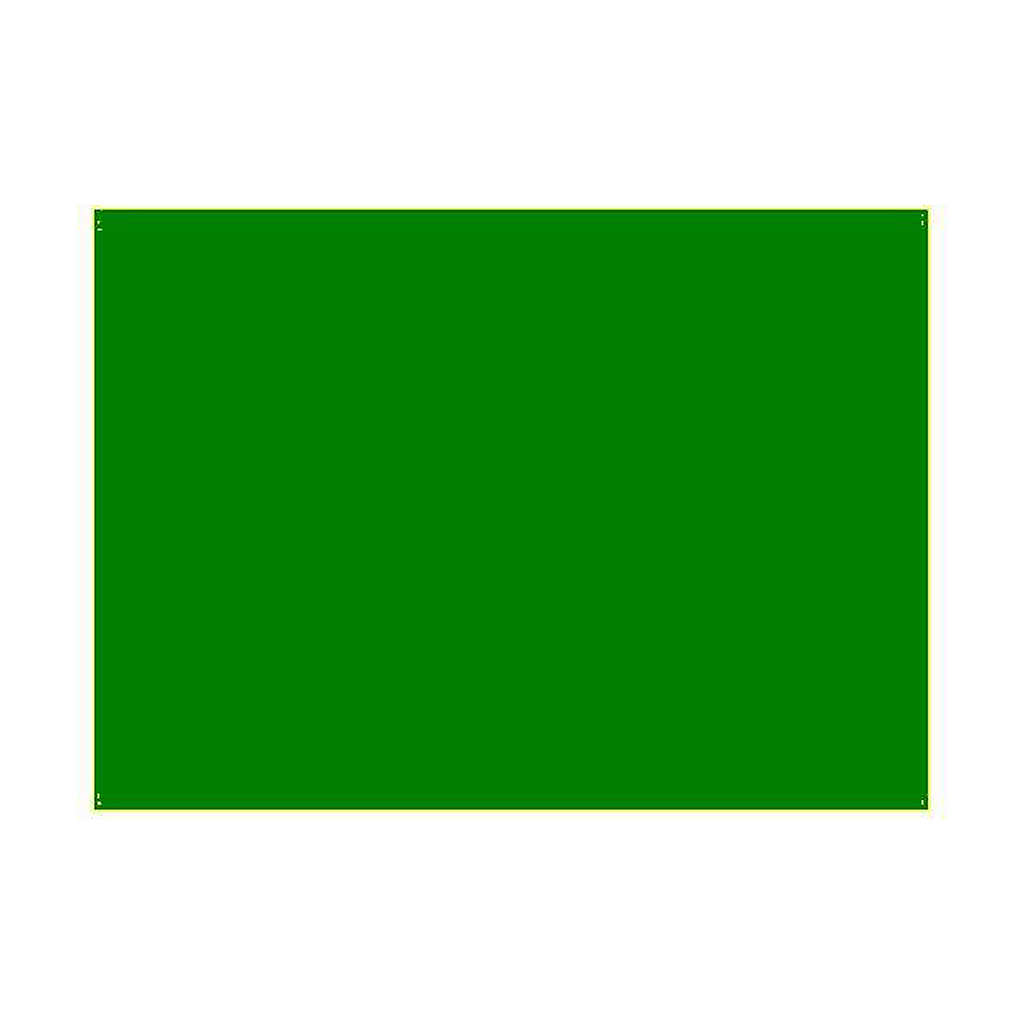 Gélatine pour ampoules 25x30 cm vert 4