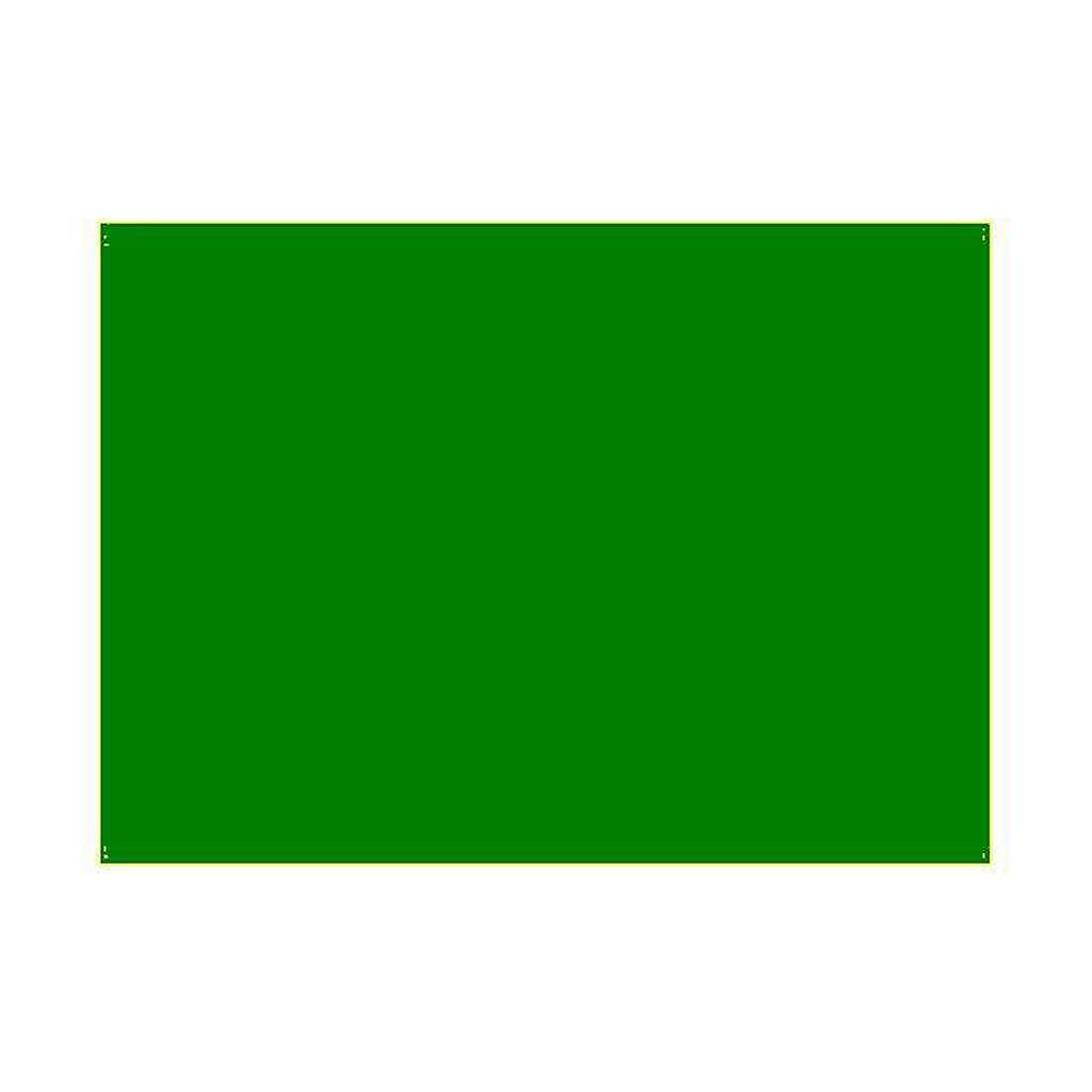 Gelatina per lampade 25x30 cm verde primario 4