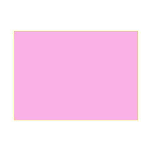 Gélatine pour ampoules 25x30 cm rose vif 1