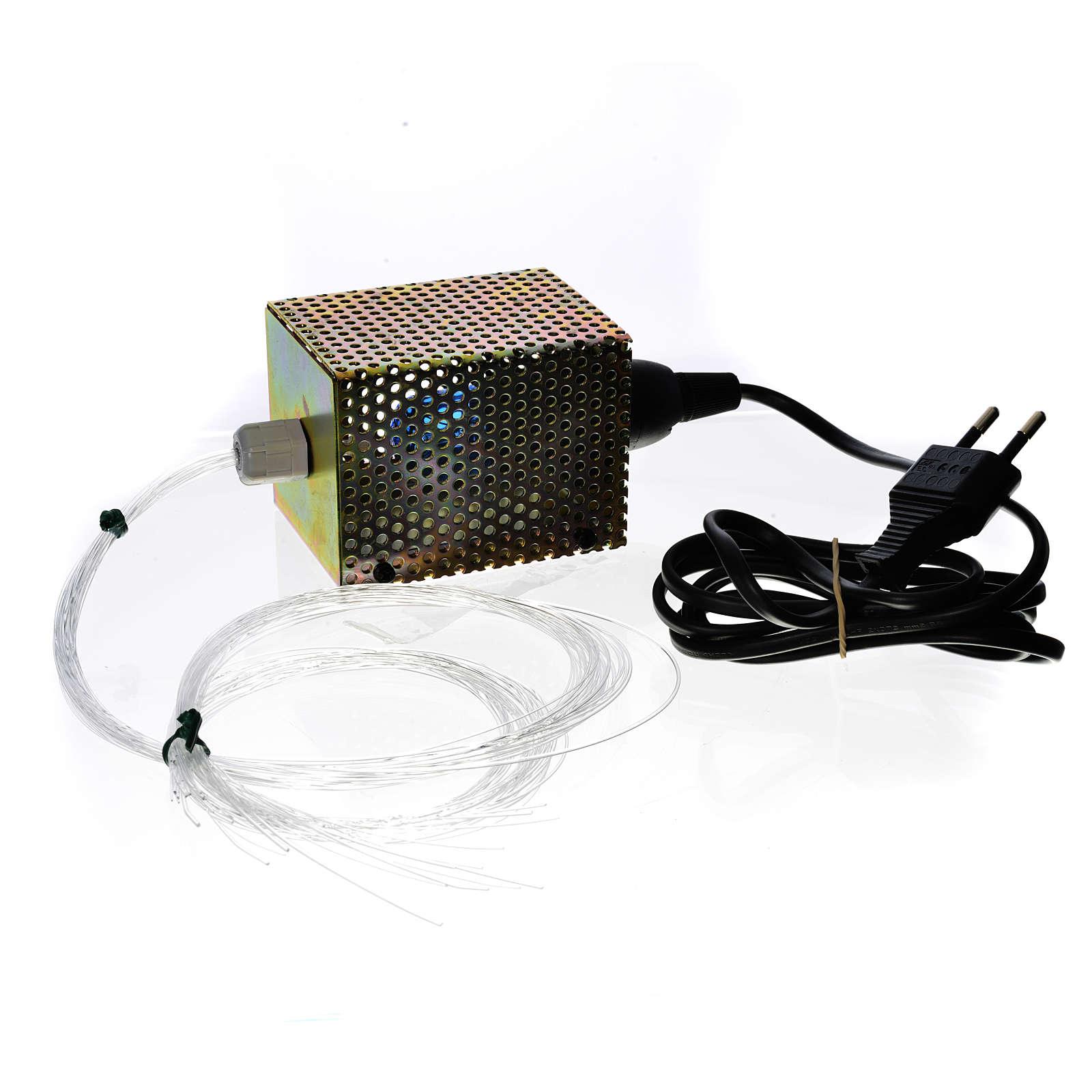 Stelle a fibra ottica 30 fili 25W 220V 4